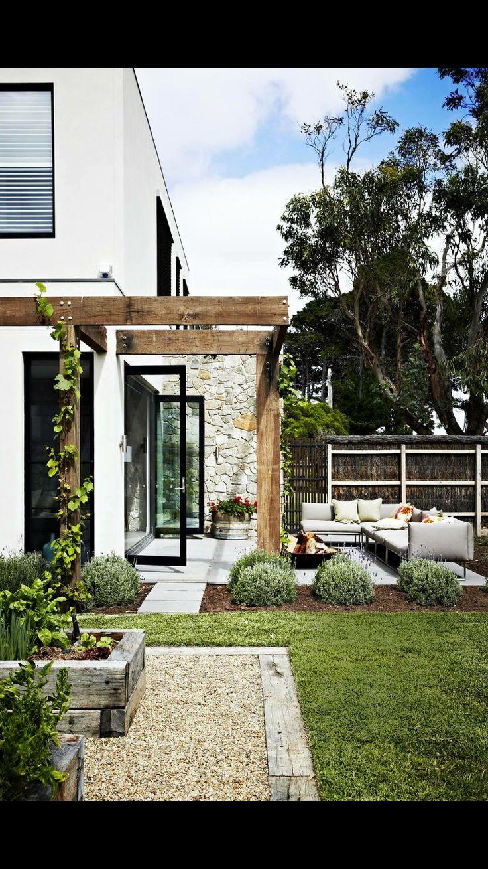 M s de 25 ideas incre bles sobre muro de piedra en for Muro de separacion jardin