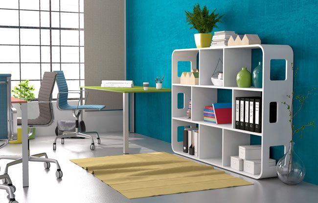 Büroregal - notwendiges Übel? Nein! Auch Büroregale können schön sein. Erfahre hier mehr