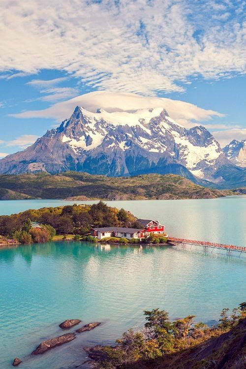 Torres del Paine National Park in southern Chilean Patagonia // Chile