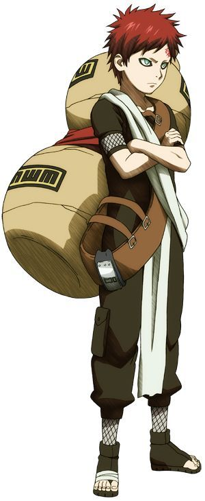 Anime/manga: Naruto (Shippuden) Character: Gaara