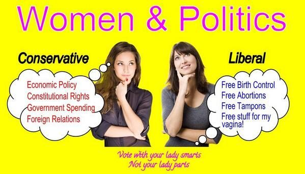 How Liberals View Women | Conservative Byte truily Liberals seek to do what they want whatever the cost . but the Wages of Sin spells out Death