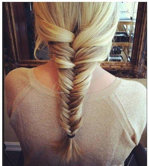 Fishtail Braided Cute Hairstyles