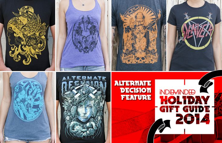 IM Holiday Gift Guide: Alternate Decision Clothing Feature