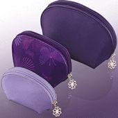 Purple Peace Nesting Bags Set of 3