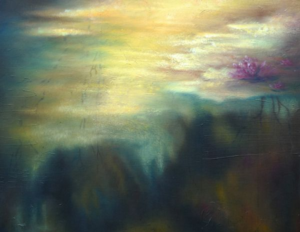 In-between Worlds   Sofia Minson Oil Painting   New Zealand Artwork