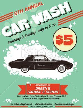37 best car wash images on pinterest lavado de coches lavado de retro style car wash ad solutioingenieria Images