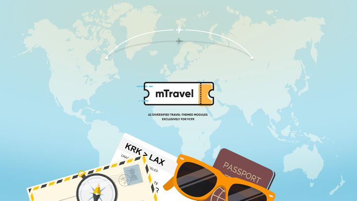 NEW PLUGIN! mTravel - http://bit.ly/mTravel #FCPX #FinalCutProX #VideoEditing #Apple #Design