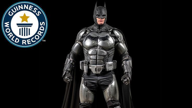 #VR #VRGames #Drone #Gaming Batman Cosplay Breaks World Record - Meet the Record Breakers 2017, Arkham City, arkham knight, batman, batman arkham asylum, batman cosplay, batman suit, batman suit diy, batman suit real, batman suit replica, batman toys, Cosplay, cosplay tutorial, cosplay workshop, Drone Videos, Guinness, Guinness Book, guinness buch der rekorde, Guinness Records, Guinness World Records, GWR, lo show dei record, Officially Amazing, real batman, record, record b