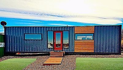 40 FT HC CONTAINER HOME OFFICE!! TINY HOUSES AS LOW AS 30k