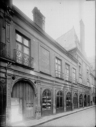 ancien hôtel Jubert de Brécourt - 1-3 rue de l'hôpital - Rouen