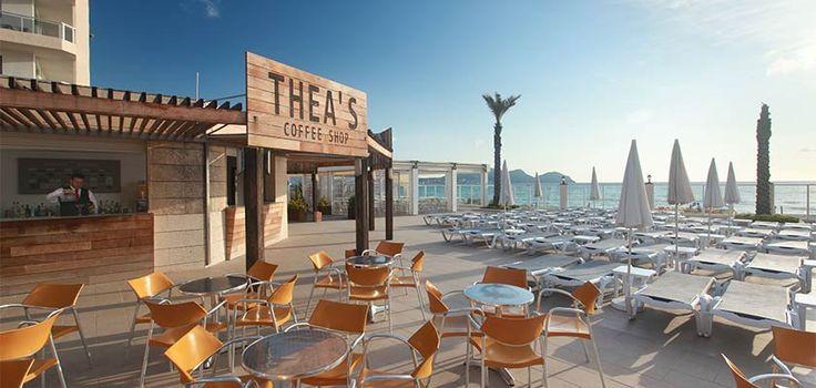 Theas Bar & Restaurant. Alcudia Pins Hotel