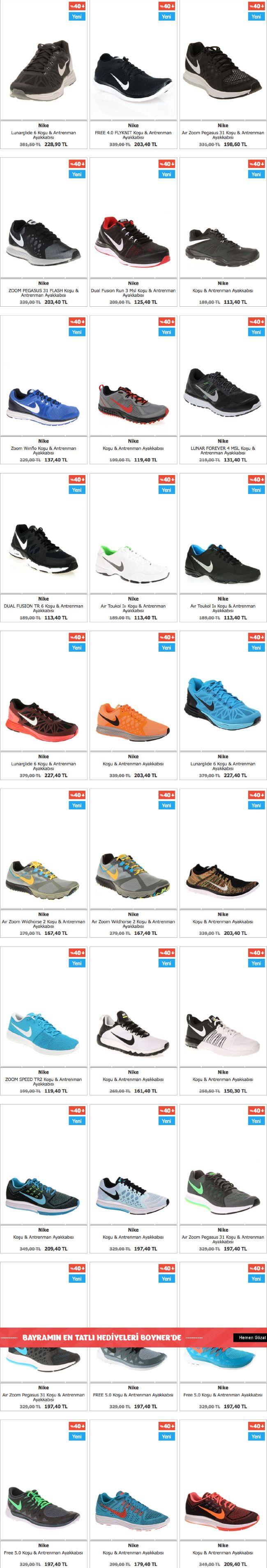 Boyner Nike ayakkabılarda Net %40 indirimli fiyat kampanyası | Kampanyabul.org
