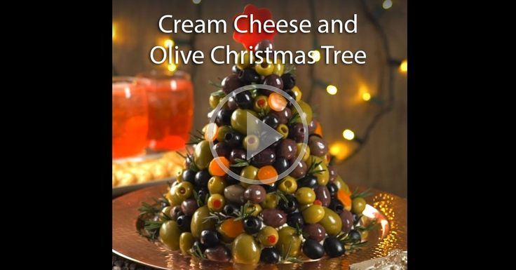 This Cream Cheese and Olive Christmas Tree looks absolutely delicious! This is going to be a hit at my family gatherings this holiday season!
