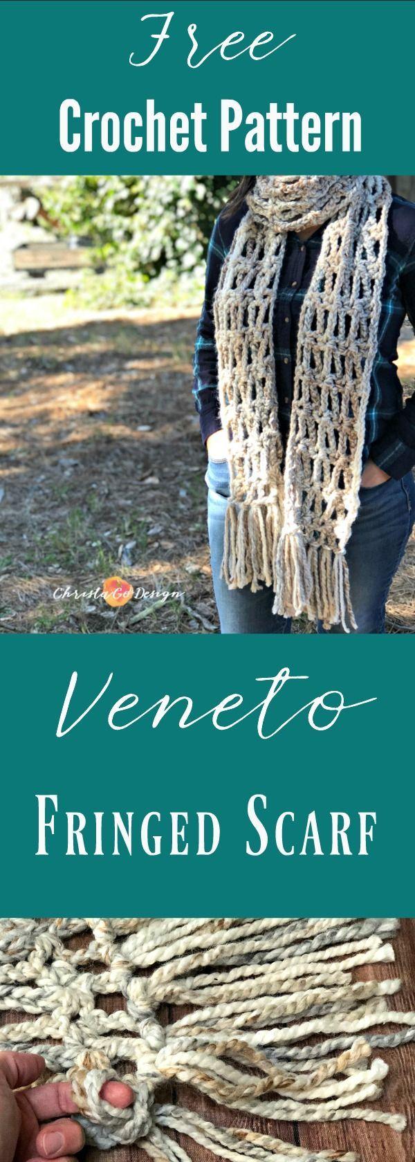 392 best Crochet Scarf Patterns images on Pinterest | Coats, Craft ...