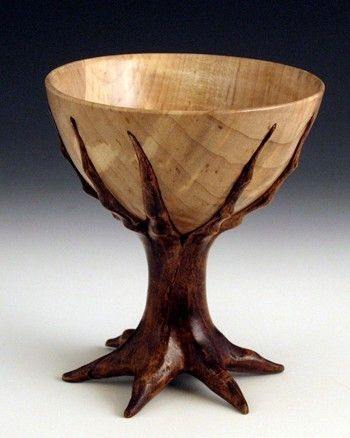 Wood Turned Bowl by Alan W. Hollar