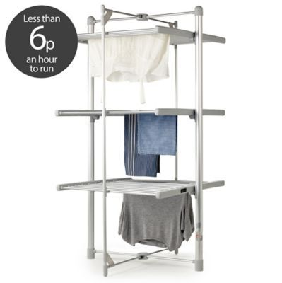 Lakeland Dry-Soon 3-Tier Heated Tower Airer