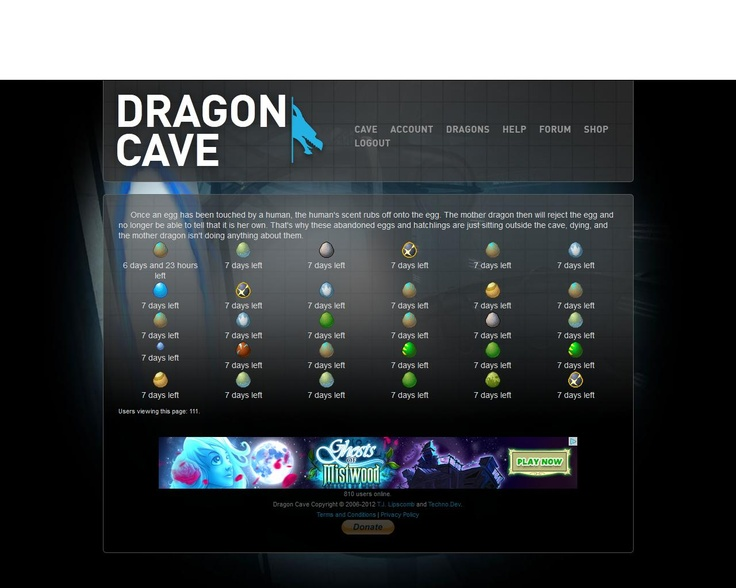 Dragon Cave is a free dragon adoptables website where users can choose their own dragon eggs to hatch and grow into adults. Hatching and growing dragons is based on how many clicks the adoptables receive. In this hub, learn how to register for an account, steal a dragon egg and get enough clicks to help them grow into adulthood!
