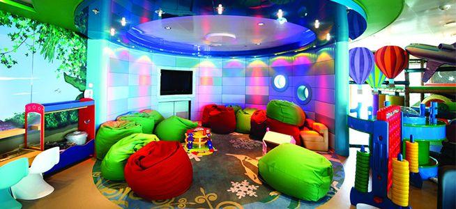 P&O Azura - The Hub, fun activities for the kids