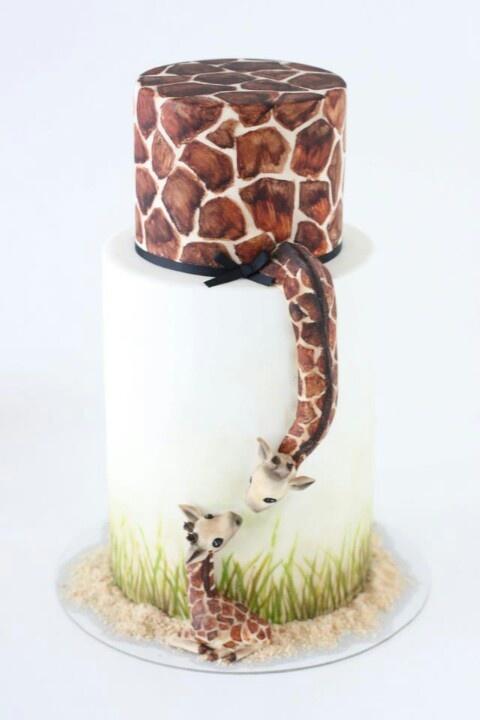 Adorable giraffe cake - just for @Liezel van Achterbergh :)