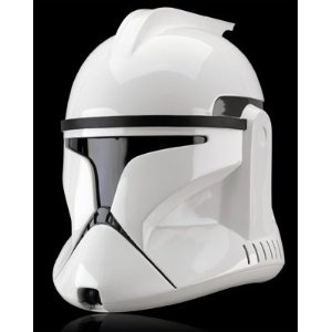 Réplique Star Wars Casque Clone Trooper Episode II #starwars #logostore