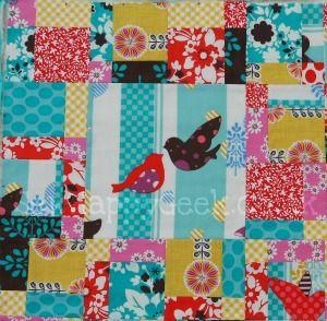 mini quilt tutorial 6