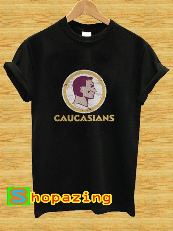 Washington Caucasians Football T-Shirt  098f4eef7