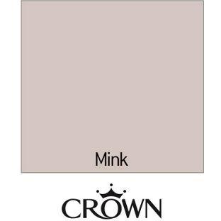 Crown Fashion For Walls Mink - Indulgence Matt Emulsion Paint - 2.5L from Homebase.co.uk