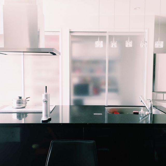 azuchihomeさんの、キッチン,タカラスタンダード,レミュー,シンプル,シンプルライフ,シンプルが好き,シンプルモダンインテリア,キッチン収納,アイランドキッチン,キッチン,のお部屋写真