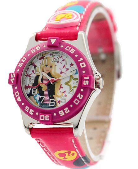 Лучше для Детей Подарки Мультфильм Куклы Пурпурный Группа Прекрасные Милые Набор Дизайн Серебряные Часы Пурпурный Рамка Прекрасные Дети Смотрят KW044C