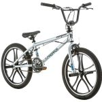 Mongoose Legion Mag Boy's Freestyle Bicycle 20-Inch Silver.