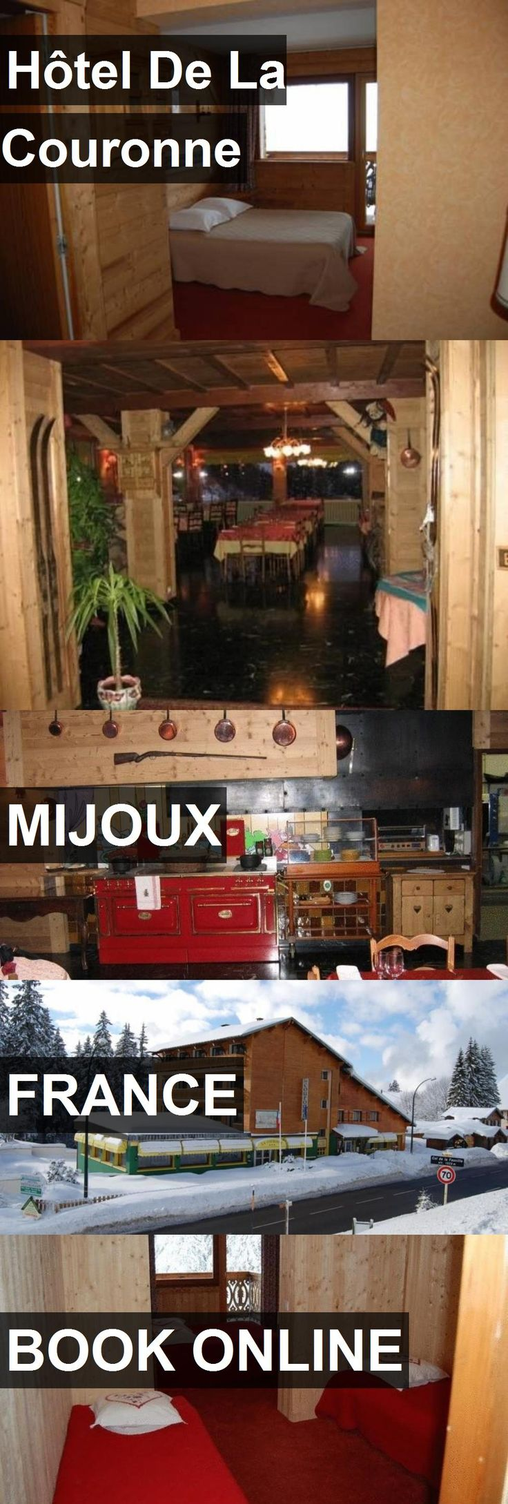 Hotel Hôtel De La Couronne in Mijoux, France. For more information, photos, reviews and best prices please follow the link. #France #Mijoux #travel #vacation #hotel