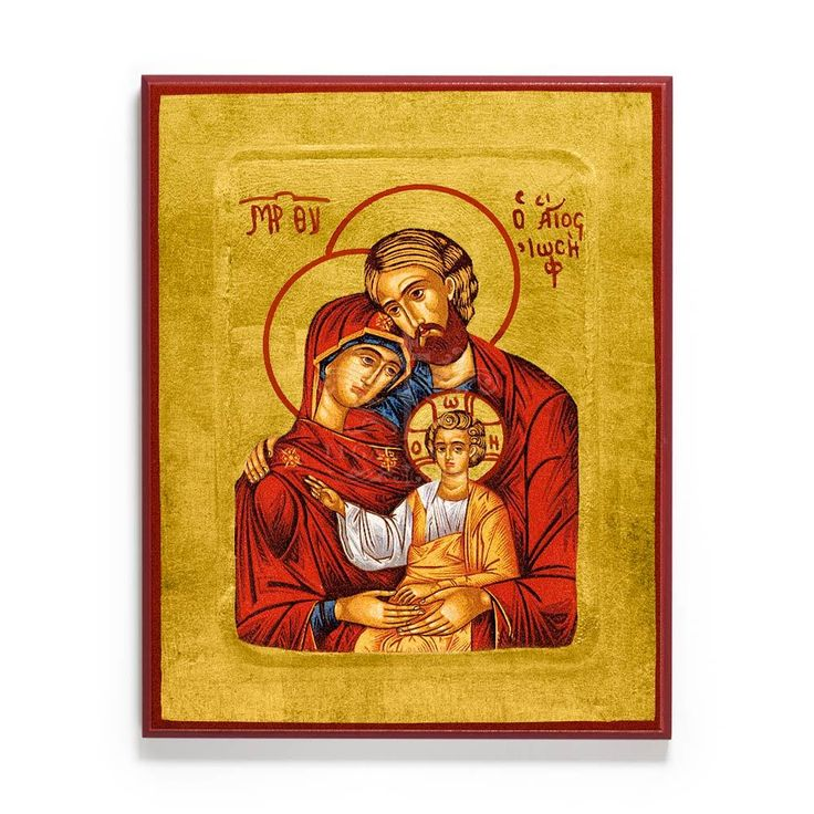 Holy Family Icon - S135 - Legacy Icons