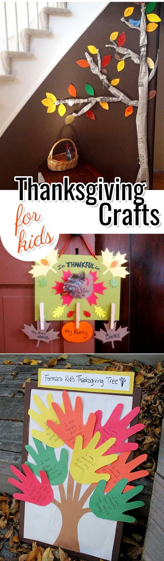 Thanksgiving Crafts for Kids - Fun and Easy Kids Craft Ideas for Thanksgiving