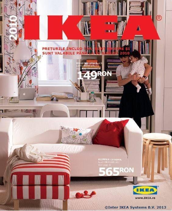 """Catalogul IKEA 2010, 376 pagini de inspirație pentru ca o casă să devină """"acasă""""."""