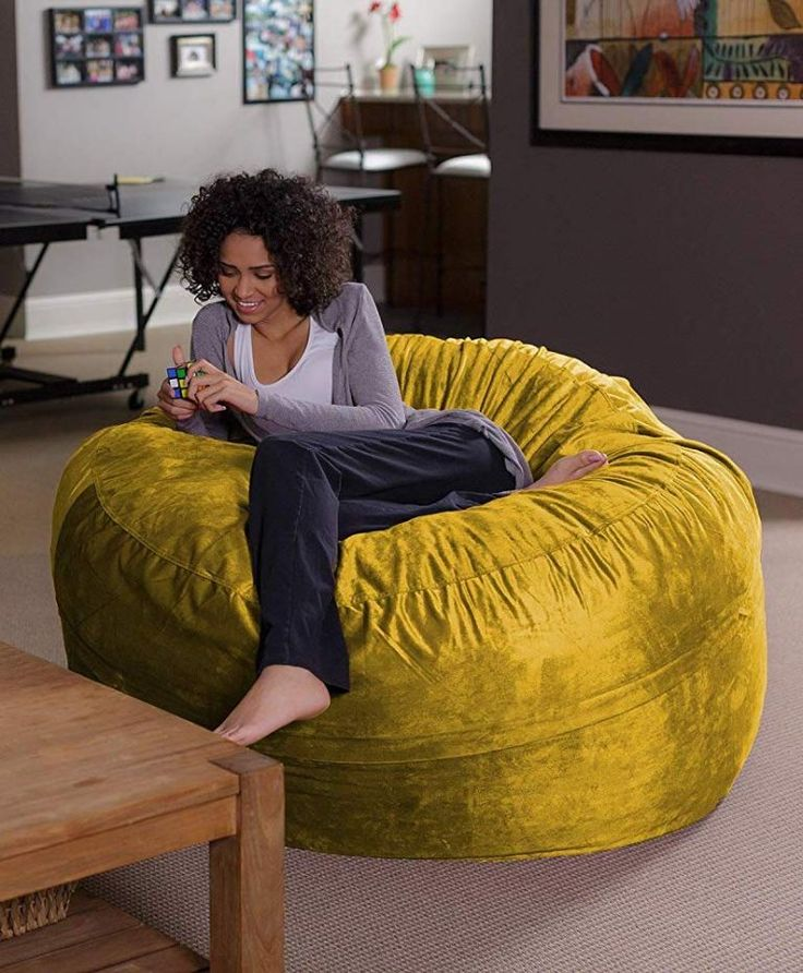 Top 5 Cozy&Affordable Bean Bag Chairs on Amazon Provides