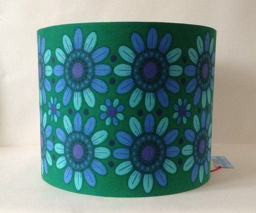 12 best vintage lampshades images on pinterest vintage lampshades vintage 1960s fabric lampshade aloadofball