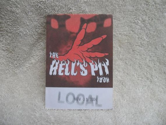 ICP Insane Clown Posse Hell's Pit Tour Nov 5 04 Local Cloth C...