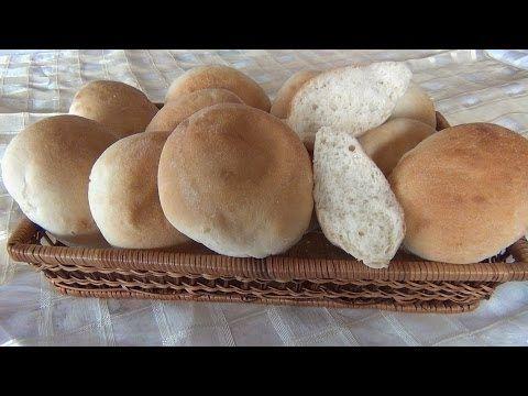 Brioches e panini morbidi con lievito madre - YouTube