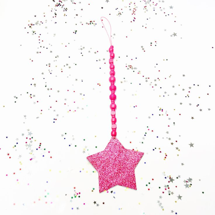 A personal favourite from my Etsy shop https://www.etsy.com/au/listing/470329998/wooden-bead-garland-glitter-star-drop