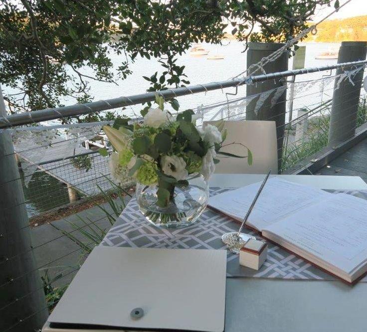 Blackfish cafe #Como, afternoon  #wedding #ceremony