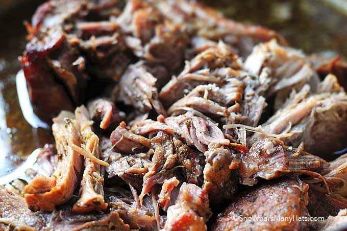 Balsamic Beer Braised Pork Roast Recipe | http://shewearsmanyhats.com/beer-braised-pork-roast-recipe/