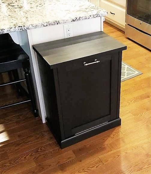 Kitchen Impressive Tilt Out Kitchen Trash Can Cabinet: Best 25+ Trash Bins Ideas On Pinterest