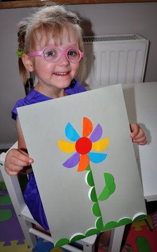 Kwiat – origami z kół | Ocalić od zapomnienia nasze cudowne lata...
