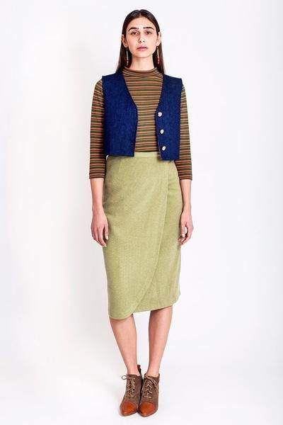 SALES - now €60.00 was €120.00.   Tulip wrap skirt by Chicks on Chic