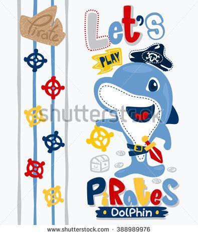 Animales Piratas Vectores en stock y Arte vectorial | Shutterstock