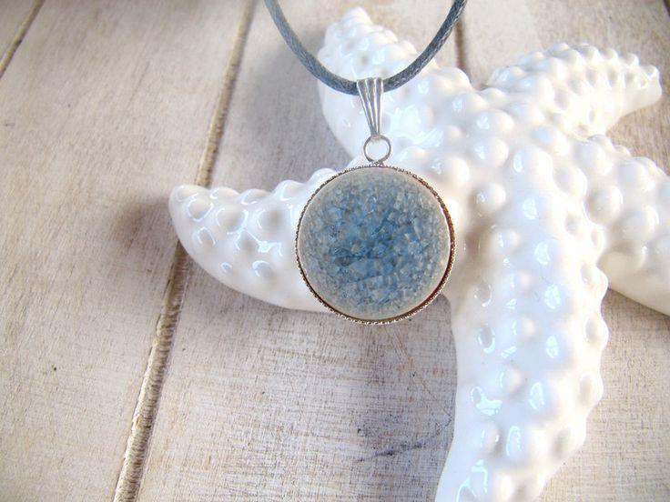 Colliers - Schöne Halskette Grau - ein Designerstück von MIO-O bei DaWanda