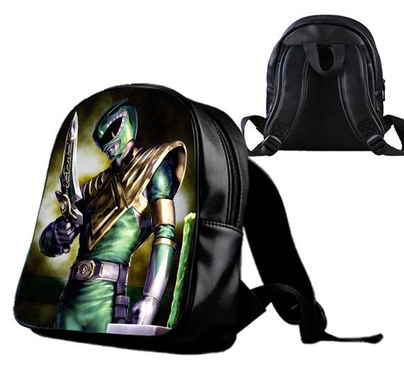 Power Rangers Green Ranger  Backpack/Schoolbags for by Wonderfunny #Minecraft #backpack #schoolbags #gift #birthday