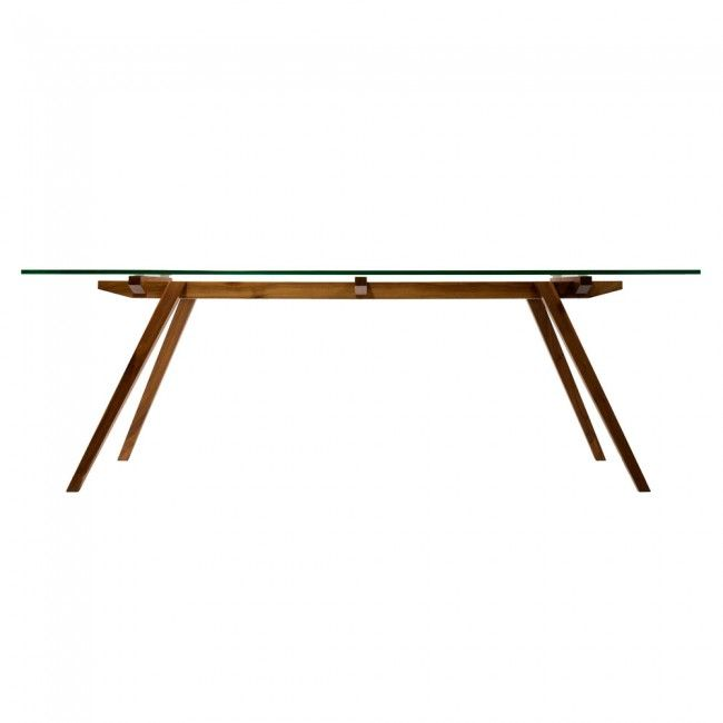 Sticotti Glass Dining Table by Organic Modernism | Clickon Furniture