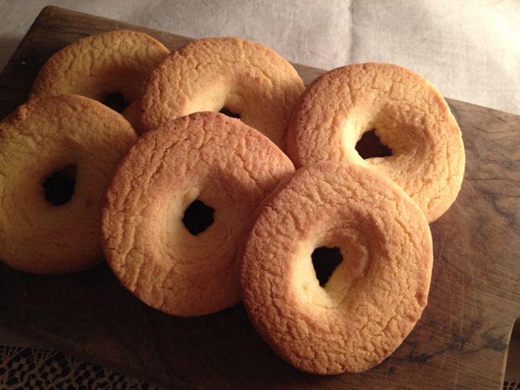 Biscotti di riso e vaniglia