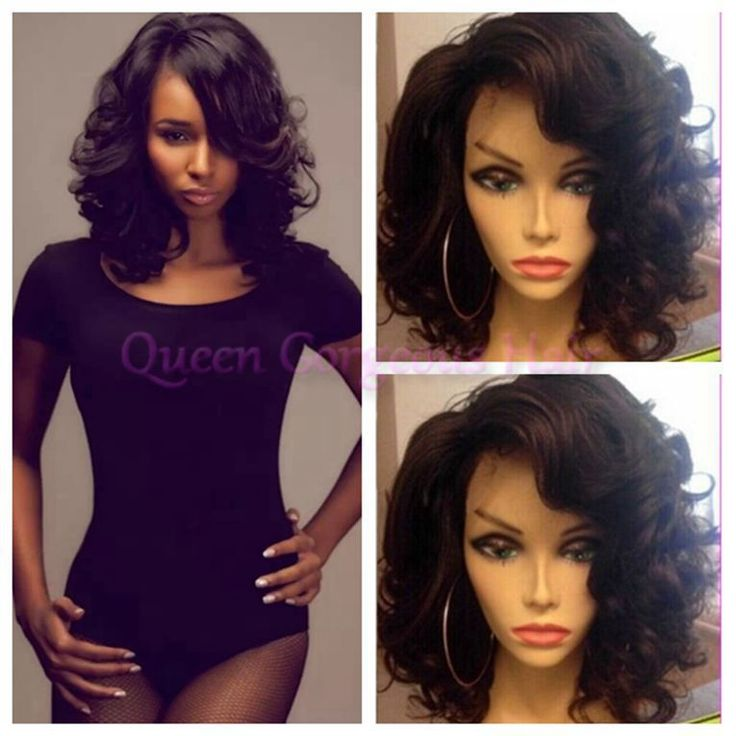 Find More Wigs Information about High quality 6A Peruvian body wave glueless lace front wig&full lace wig natural hairline short human hair wigs for black women,High Quality wig front lace,China wig band Suppliers, Cheap lace curly wigs from Queen Gorgeous Hair Store on Aliexpress.com
